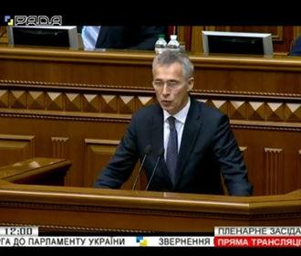 Украина благодаря НАТО стала лучше защищена от гибридных угроз - Столтенберг