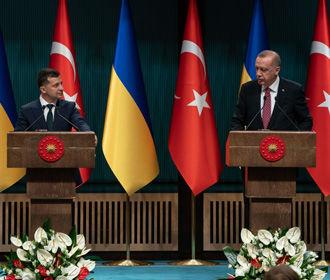 Зеленский надеется на серьезную роль Турции в решении вопроса Крыма
