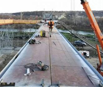Мост в Станице Луганской полностью восстановлен