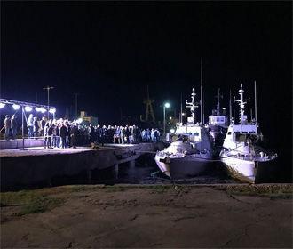 Корабли переданы в нормальном состоянии - ФСБ