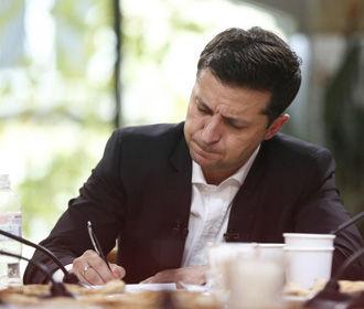 Зеленский подписал закон об уменьшении давления на бизнес со стороны органов рыночного надзора
