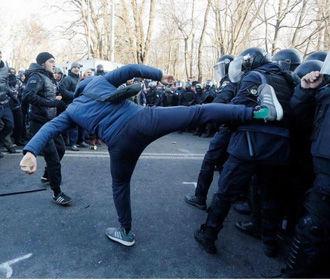 Силовики под Радой задержали 26 протестующих
