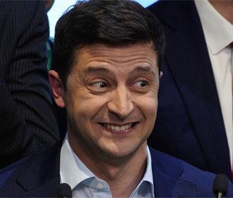 Зеленского признали политиком года 46% населения - опрос