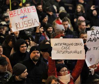 В Минске задержан организатор акции против углубления интеграции с РФ