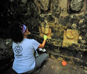 В Мексике нашли дворец майя, которому более тысячи лет