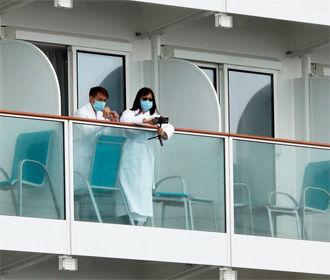 Круизный лайнер у берегов Японии будет снят с карантина 19 февраля