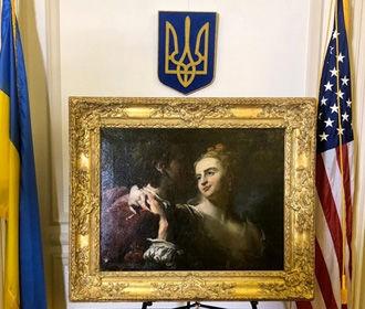 США передали Украине картину, украденную нацистами во время войны