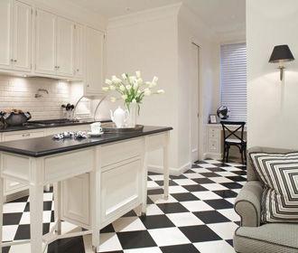 Особенности напольной керамической плитки для использования на кухне
