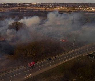 Вокруг Киева горят три торфяника