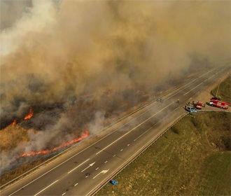 В Киевской области на 31% возросло количество пожаров за год
