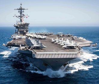 """Число заболевших коронавирусом на авианосце ВМС США """"Теодор Рузвельт"""" достигло 840"""