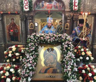 В Десятинном монастыре столицы почтили икону, перед которой было чудо явления Богородицы