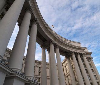 МИД Украины вызывает посла в Беларуси на консультации