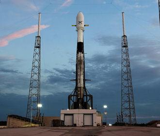 SpaceX вновь перенесла запуск партии интернет-спутников Starlink