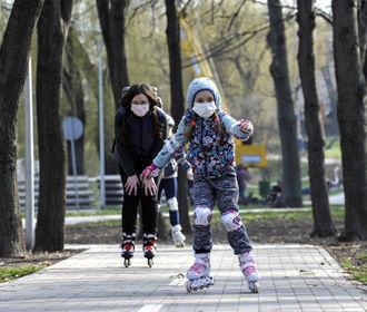 В Киеве идет на спад заболеваемость COVID-19