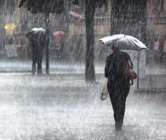 В Украине на большинстве территорий ожидаются дожди, местами грозы