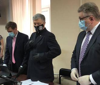Суд начал заседание по избранию меры пресечения Порошенко