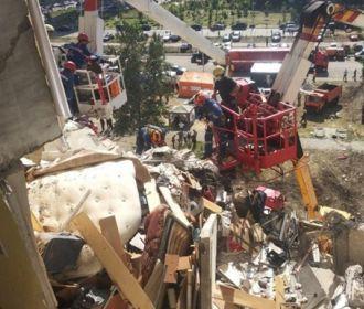 На месте взрыва в киевской многоэтажке по состоянию на вечер воскресенья найдены два погибших человека