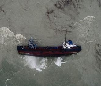 Затонувший танкер в Одессе могут разрезать