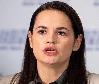 Тихановская назвала тему возможных переговоров с Путиным