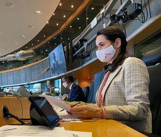 Тихановская призывает ЕС как можно быстрей ввести санкции против белорусских официальных лиц