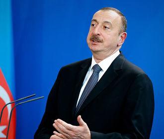 Алиев назвал перемирие в Карабахе инициативой Армении
