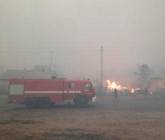 На Луганщине объявили ЧС в зоне пожаров
