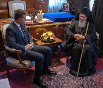 Верующие УПЦ считают, что Зеленский совершил ошибку, встретившись с Варфоломеем