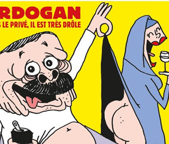 Эрдоган подал в суд на журнал Charlie Hebdo из-за карикатуры