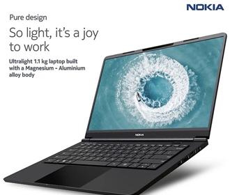 Nokia выпустила первый ноутбук