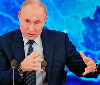 Путин обратился к Западу вопросом «считаете, что мы придурки?»