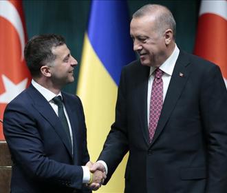 Зеленский ожидает визита Эрдогана в Украину в начале 2021 года