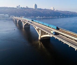 Мост метро Киев
