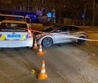 В Киеве водитель выстрелил себе в голову, после того, как не смог убежать от полиции