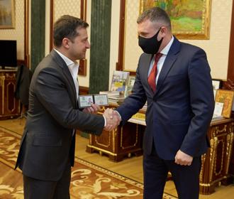 Сергей Гамалий и Зеленский