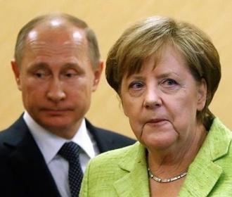 В Кремле назвали темы переговоров Меркель с Путиным