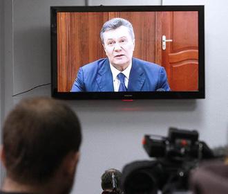 Янукович просит суд об участии в заседании онлайн