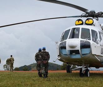 В Конго погиб украинский миротворец