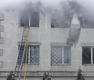 В Харькове 15 человек погибли при пожаре в доме престарелых