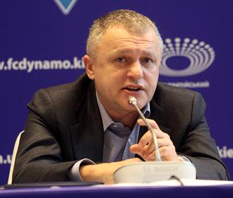 УАФ оштрафовал президента киевского «Динамо»