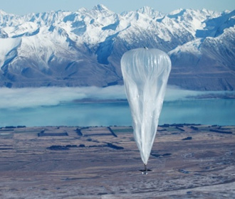 Google прекратит раздавать интернет с воздушных шаров в Африке