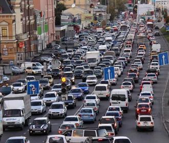 Киев попал в топ-10 городов с самыми большими пробками в мире