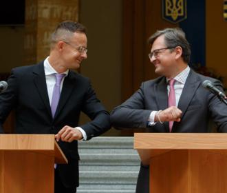 Кулеба и Сийярто обсудят шаги для преодоления кризиса