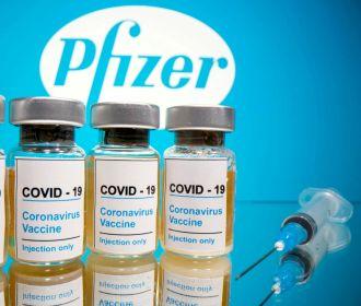 Украина ожидает первые поставки вакцины Pfizer в мае-июне