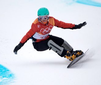 Украинская сноубордистка выиграла золото Кубка Европы