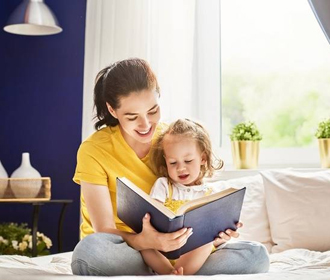 Чтение ребенку