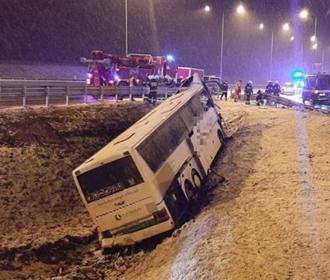 Один украинец погиб, 4 пострадали в ДТП автобуса в Польше – СМИ