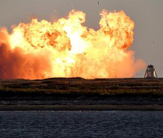 Прототип космического корабля Starship компании SpaceX взорвался при посадке
