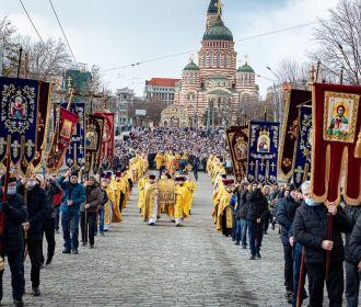 Крестные ходы УПЦ на Украине: нас притесняют, но нас становится больше
