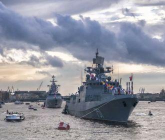 Черноморский флот РФ вернул в пункты дислокации корабли после учений в Крыму
